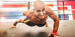 Крутые отжимания с балансированием, которые заставят ваши мышцы ныть