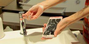 Компания Kyocera готовит новый смартфон, который можно мыть с мылом