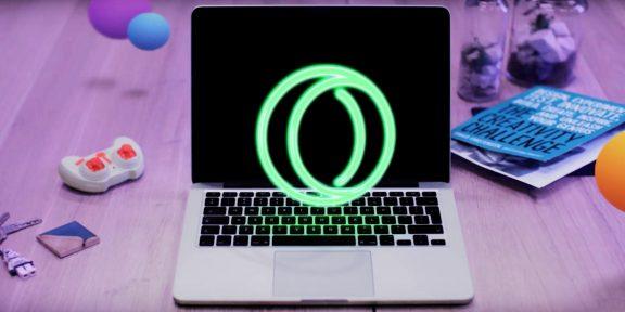 Opera Neon — новый красивый браузер, непохожий на другие