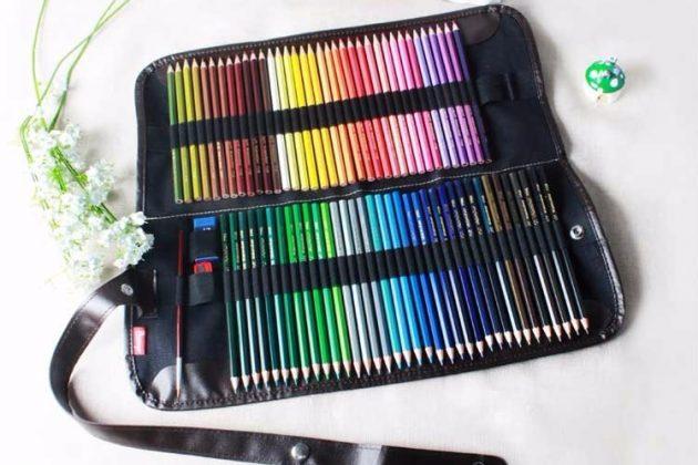 Что подарить дочке на 8 Марта: Большой набор цветных карандашей