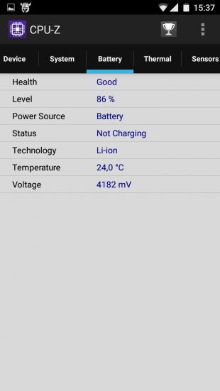 Zopo Hero 2 battery