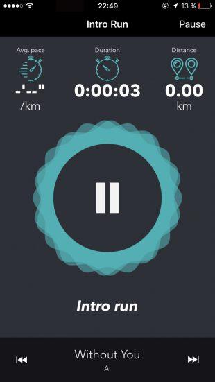 приложения, iOS, бег