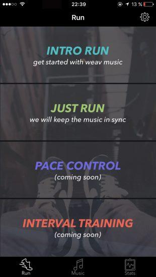Weav Run для iOS