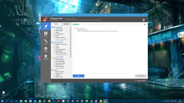 Бесплатные программы для Windows: CCleaner