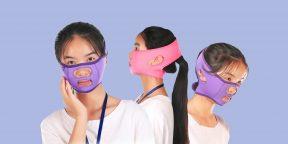 Подтягивающая маска-бандаж: что это такое и как она работает