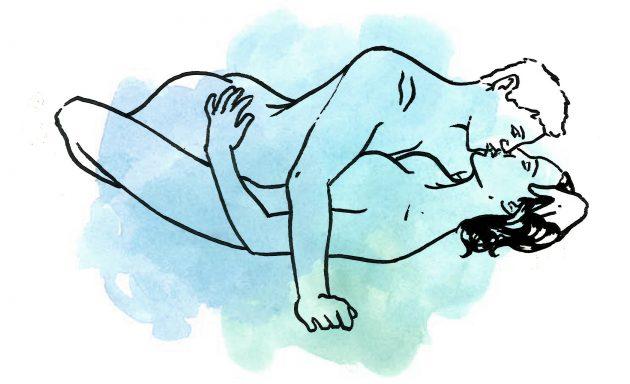 Нарисованный классический секс