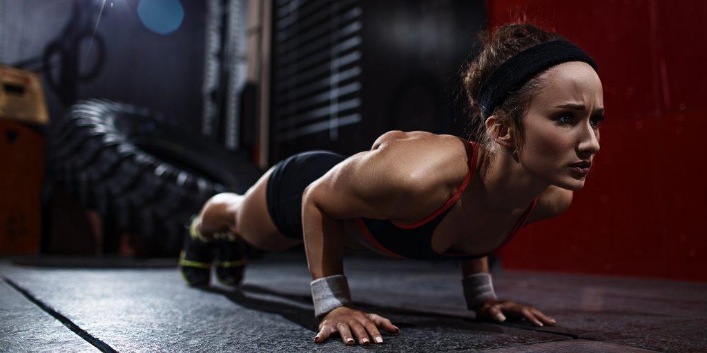 Как накачать мышцы груди отжиманиями — Спорт и красота