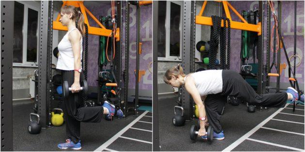 петли для тренировок: тяга Кинга