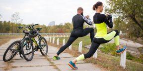 Растяжка для велосипедистов: 4 простых упражнения для развития гибкости