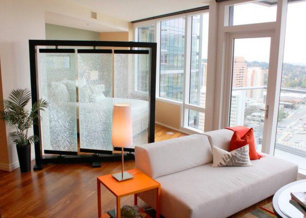 Дизайн квартиры-студии: зонирование