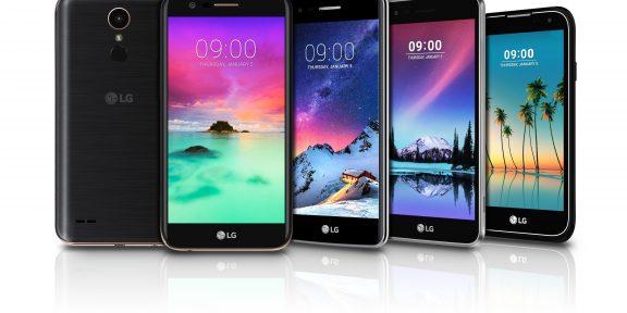 Новые смартфоны от LG: улучшенная камера и сканер отпечатков пальцев