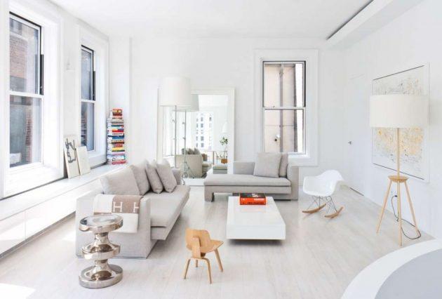 Дизайн квартиры-студии: мебель