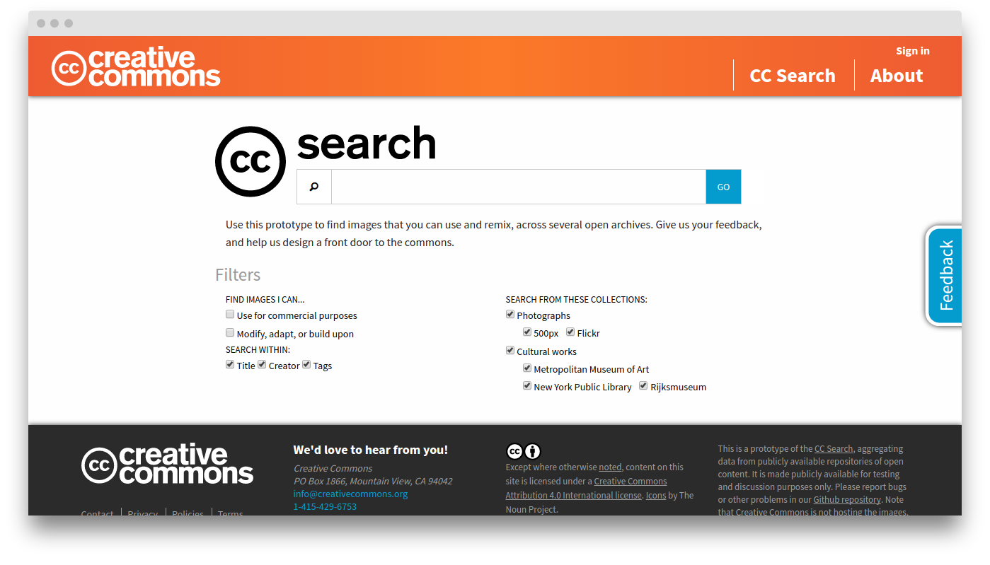 creative commons cc search - HD1399×799
