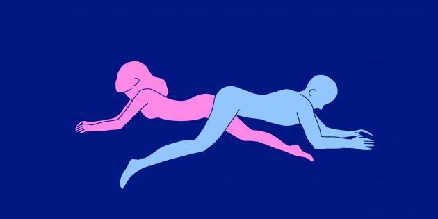 Необычные позы для секса: максимальное удаление