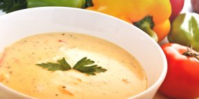 3 простых сырных супа на любой вкус