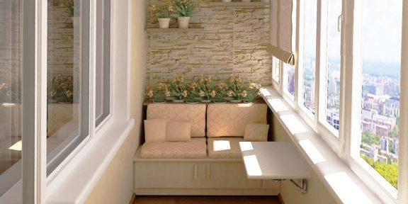 6 способов сделать маленький балкон самым любимым местом в квартире