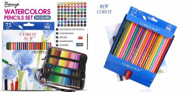 Что подарить дочке на 8Марта: Большой набор цветных карандашей