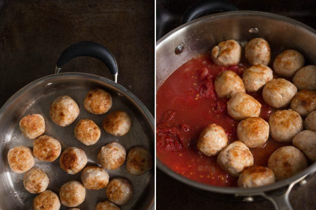 Спагетти с тефтелями: начните готовить соус