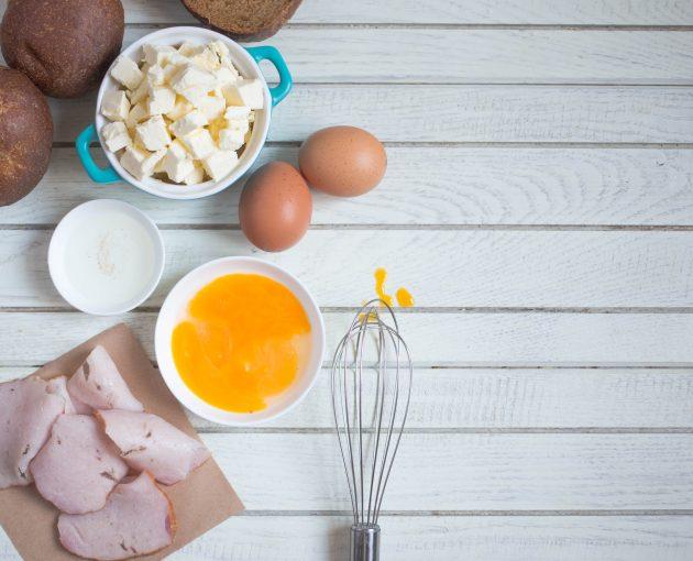 яйца бенедикт: ингредиенты