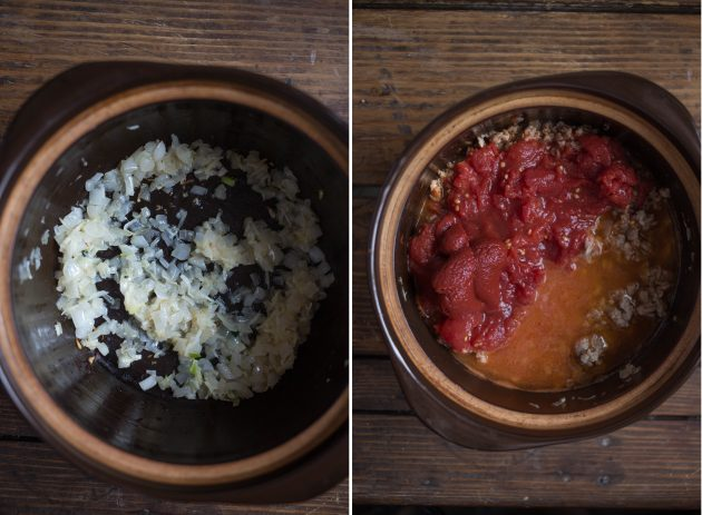 как приготовить лазанью: томаты