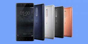Новая линейка смартфонов Nokia представлена на MWC 2017