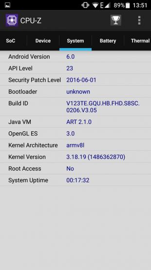 Ulefone Gemini: технические характеристики 3