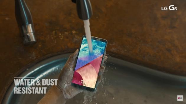 LG G6 water resist