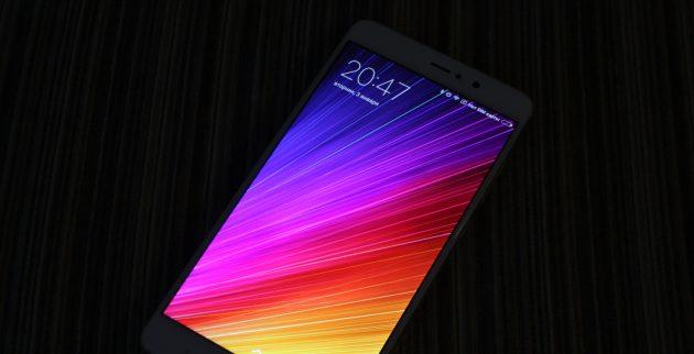 Xiaomi Mi5S Plus: экран
