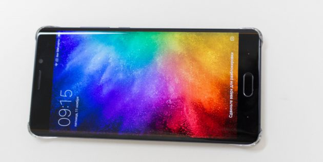 Xiaomi Mi Note 2: цветопередача