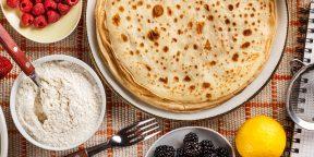 Худеем в Масленицу: рецепт блинов по диете Дюкана