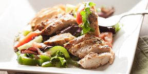 5 вкусных салатов с курицей