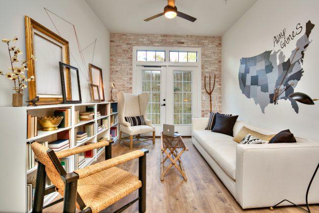 Современный дизайн гостиной: лёгкая небрежность
