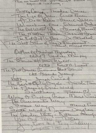 Скотт Фицджеральд: список чтения