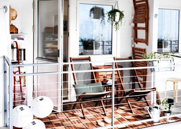 Как преобразить маленький балкон
