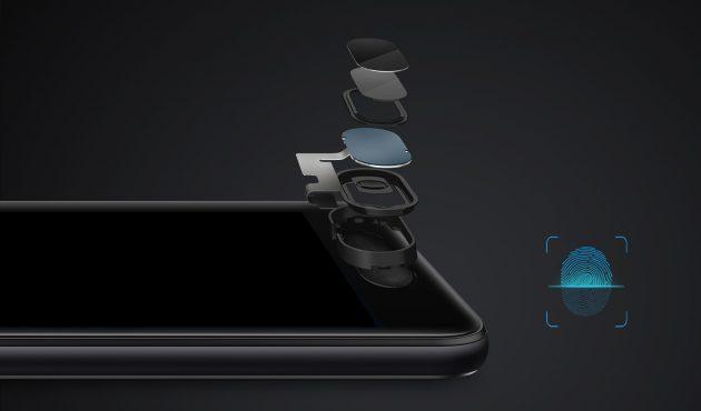 Ulefone Gemini: сканер отпечатков пальцев