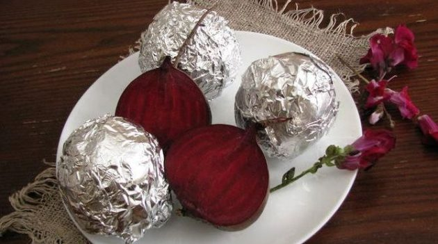 Как приготовить свёклу в духовке