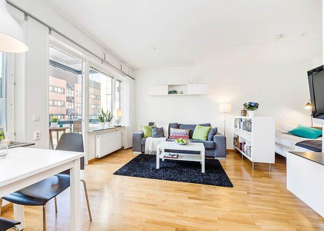 Правильное зонирование пространства: мебель