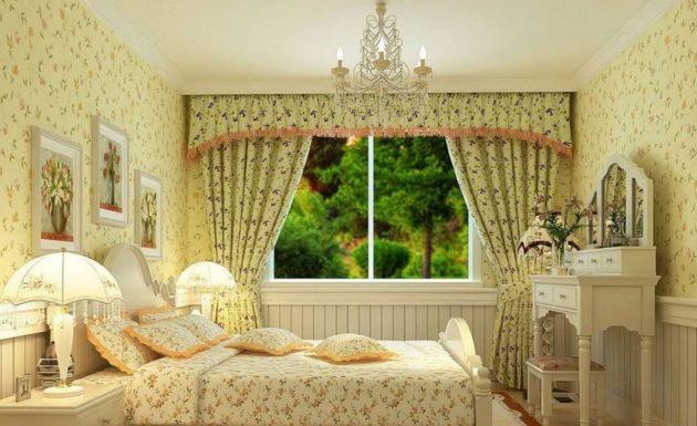 Как выбрать шторы: избыток цветочной темы в интерьере выглядит безвкусно
