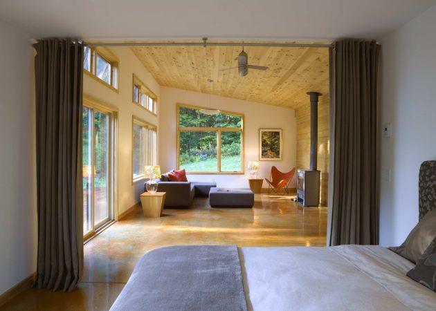 Правильное зонирование пространства: шторы