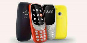 На MWC 2017 представили обновлённый Nokia 3310 с живучей батареей