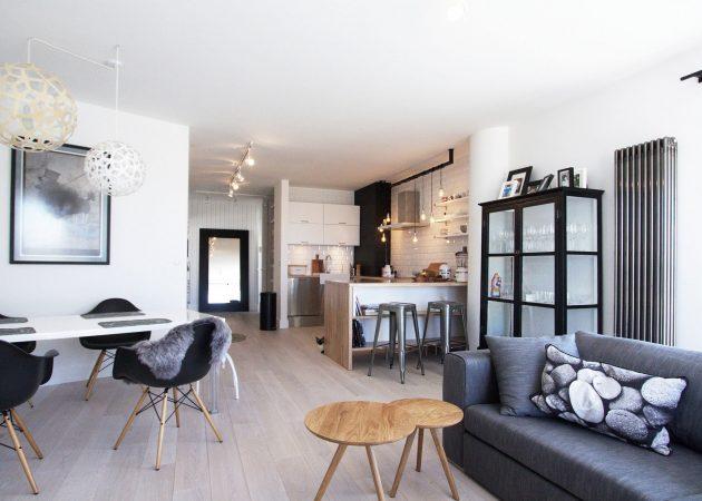 Правильное зонирование комнаты: свет