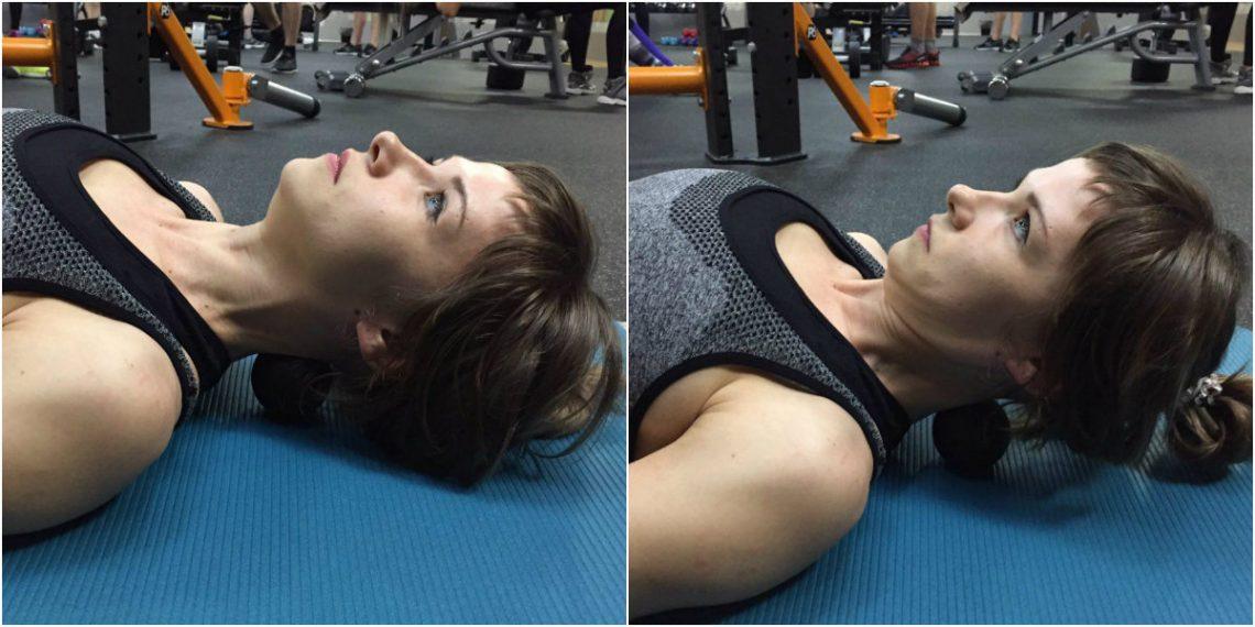 четырех минутах как расслабить мышцы шеи упражнения с фото яйцо