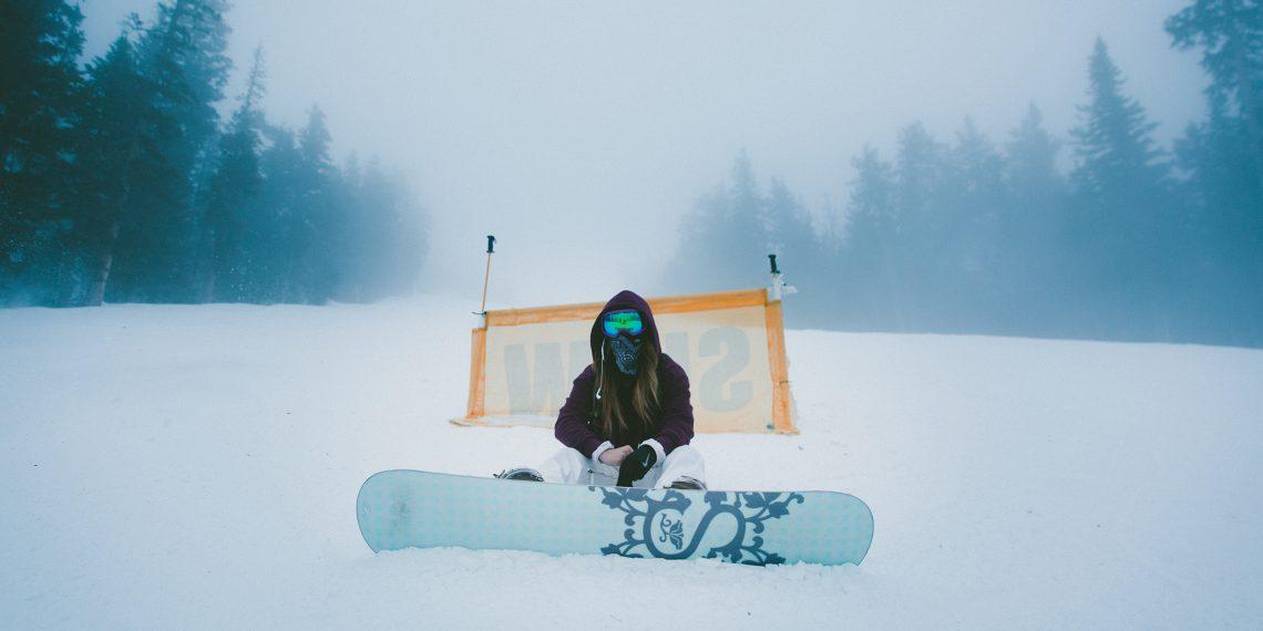 Девушки на сноуборде секс