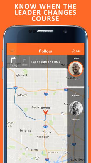 Приложение Follow поможет проследить за нужным автомобилем