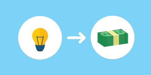 Как превратить свои идеи в деньги