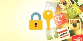 4 простых совета, которые защитят ваши данные в соцсетях