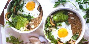 5 рецептов несладкой овсянки на обед