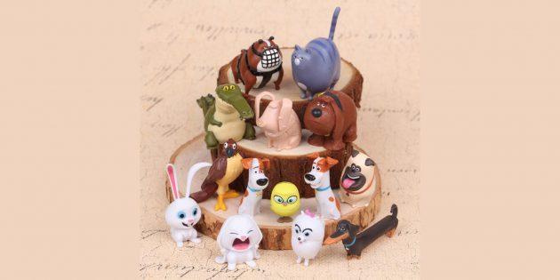 Звери из мультфильма «Тайная жизнь домашних животных»