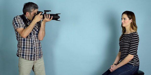 Как держать камеру с телеобъективом