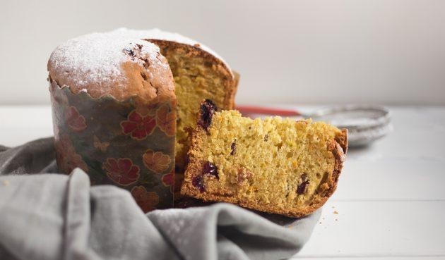Рецепт панеттоне без дрожжей: панеттоне подают простотак либо присыпав сахарной пудрой